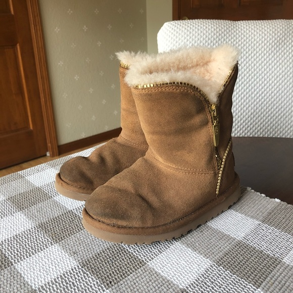 Toddler Girl Sz 11 Sherpa Lined Boots